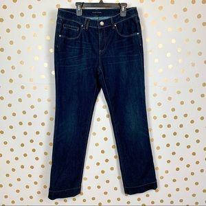 Elie Tahari Adena Straight Leg Jeans